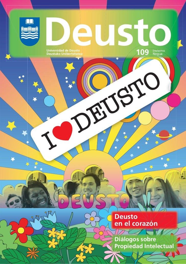 Revista Deusto nº 109 (invierno - negua. 2010)