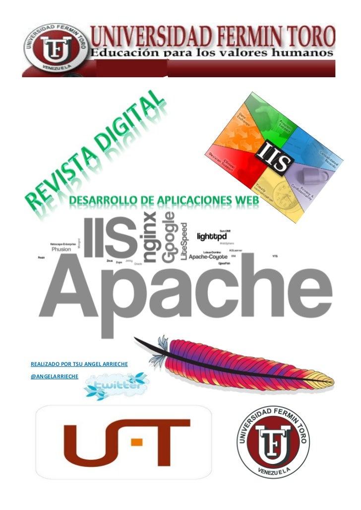 Revista digital angel arrieche   desarrollo de aplicaciones web