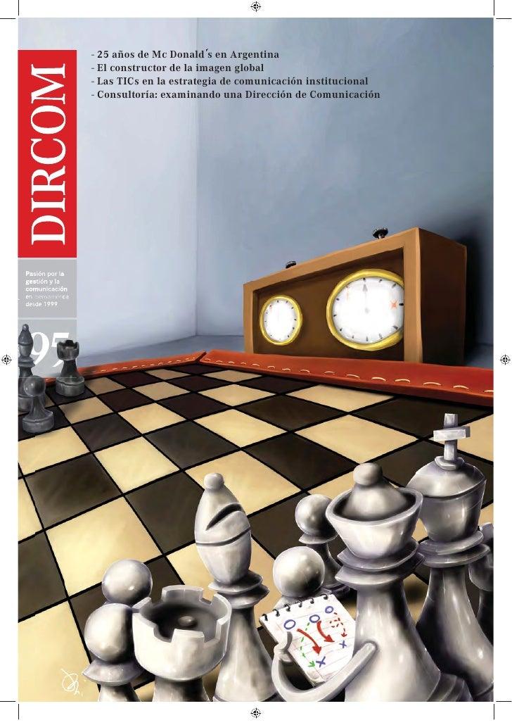 La comunicación corporativa ya no es una opción. Revista DIRCOM. Junio 2012