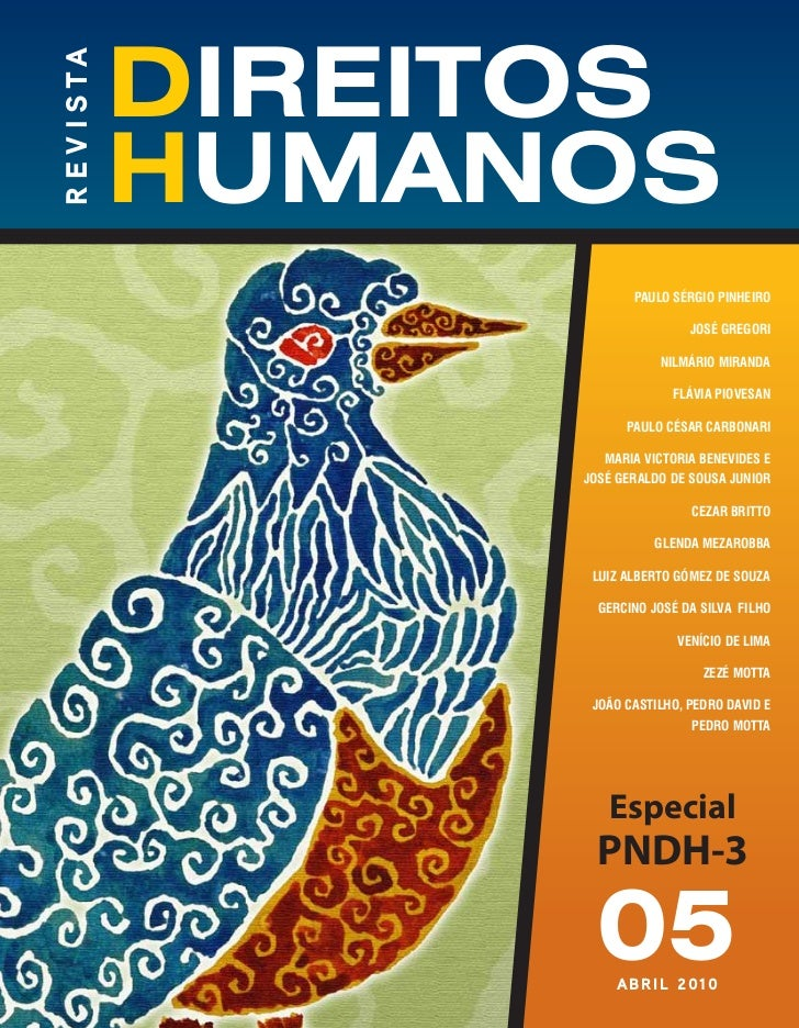 r e v i s ta               direitos               humanos                                            PAULO SÉRGIO PINHEIRO...