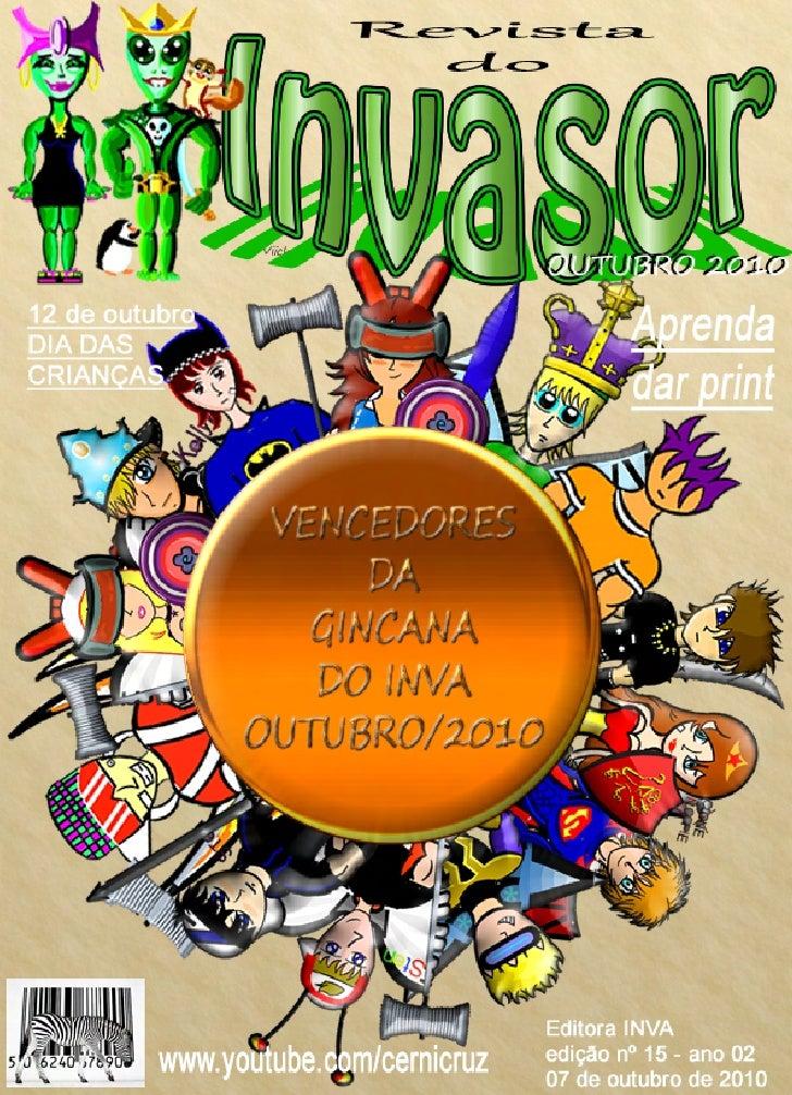 Revista do invasor outubro 2010