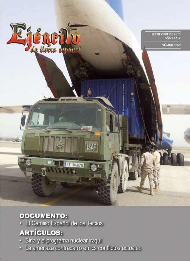 Revista Ejército num 869. Septiembre 2013