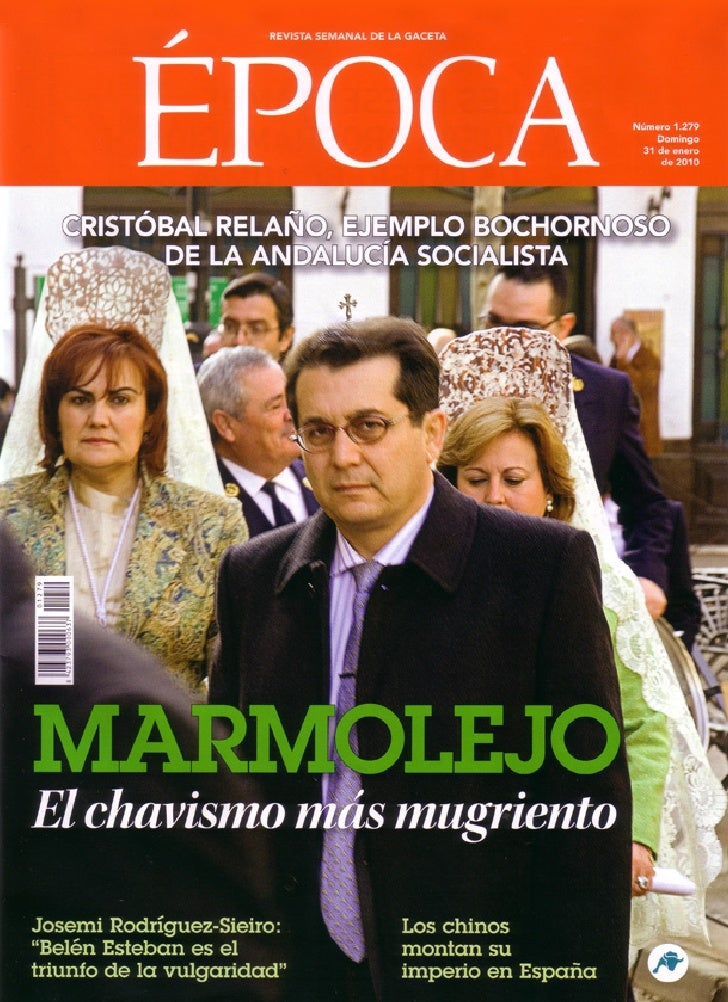 Revista EPOCA Marmolejo