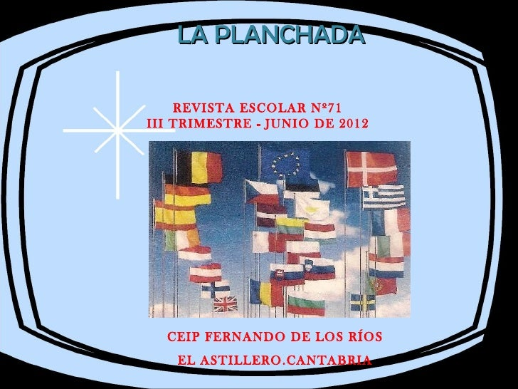 Revista escolar junio 2012