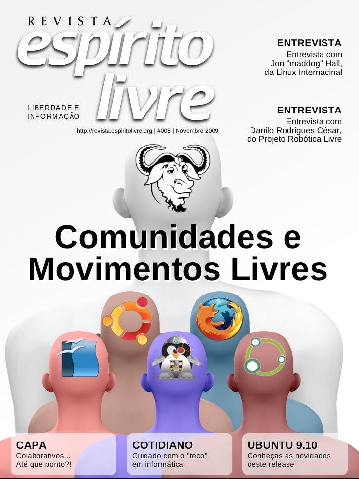 Revista Espirito Livre 008 Novembro09