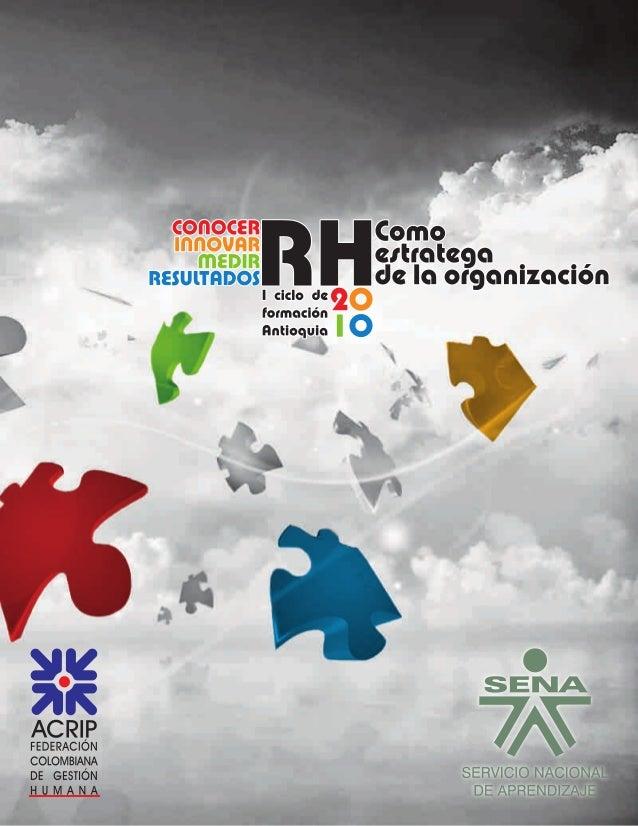 Revista RH como estratega de la organización