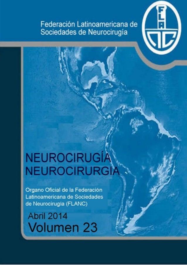 Neurocirugía Abril 2014 (Vol 23)