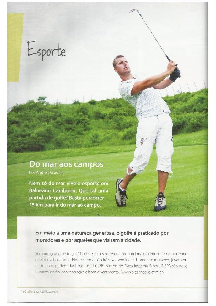 Revista Ibiza Towers - Esporte e Entretenimento