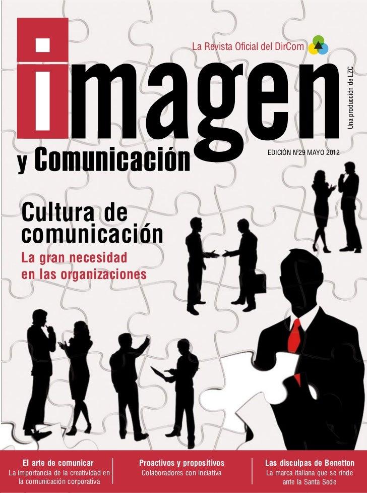 Revista imagen y comunicación   victor lozano