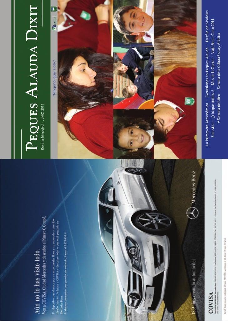 Peques Alauda Dixit                           Revista Trimestral - JUNIO 2011                                             ...