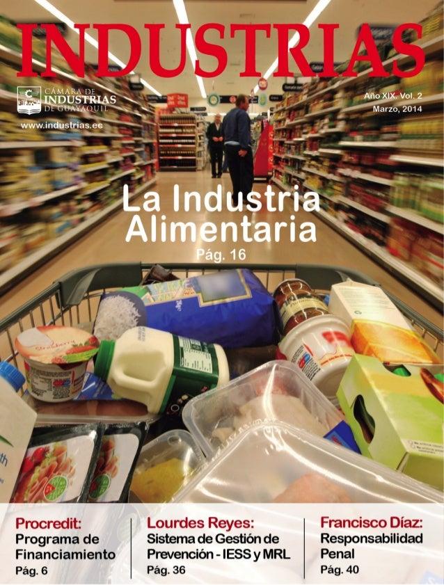Revista industrias Marzo 2014