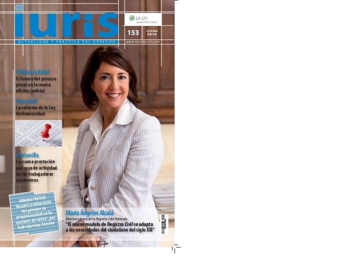 Revista iuris n° 153   octubre 2010