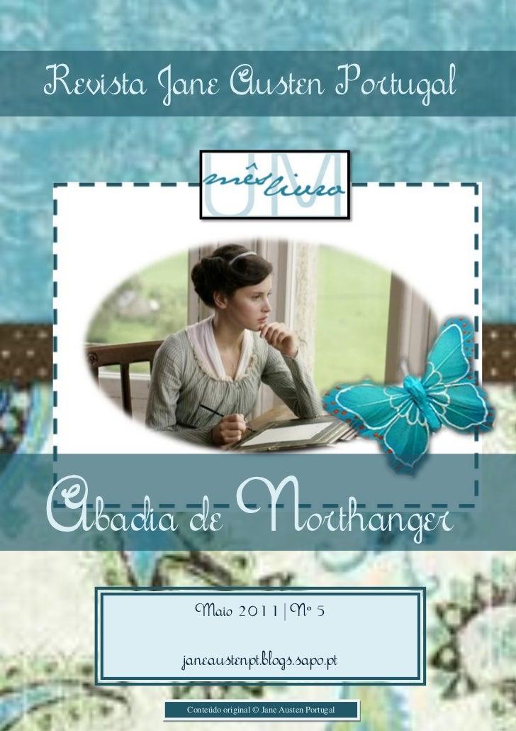 Revista Jane Austen Portugal                                                    1Abadia de Northanger          Maio 2011 |...