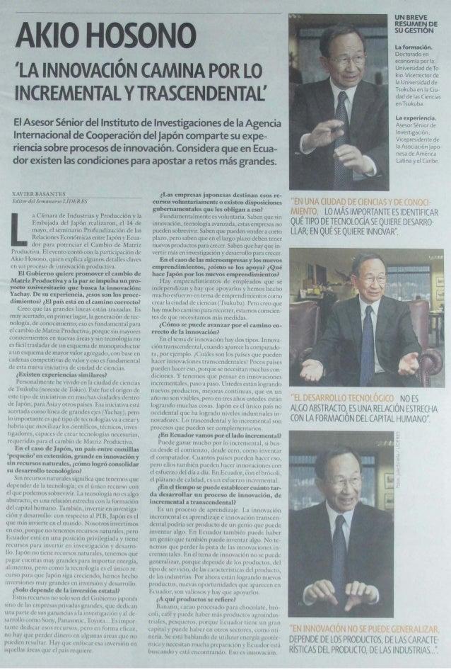 Revista Líderes 26 05-2014