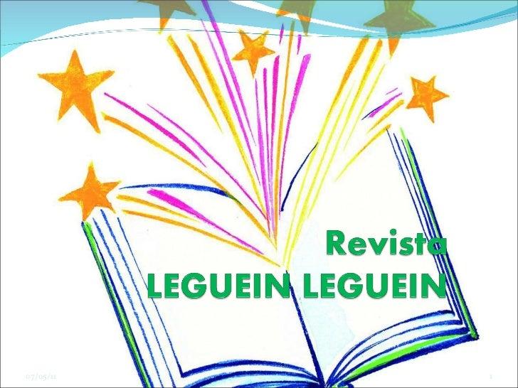 Revista Digital Leguein Leguein