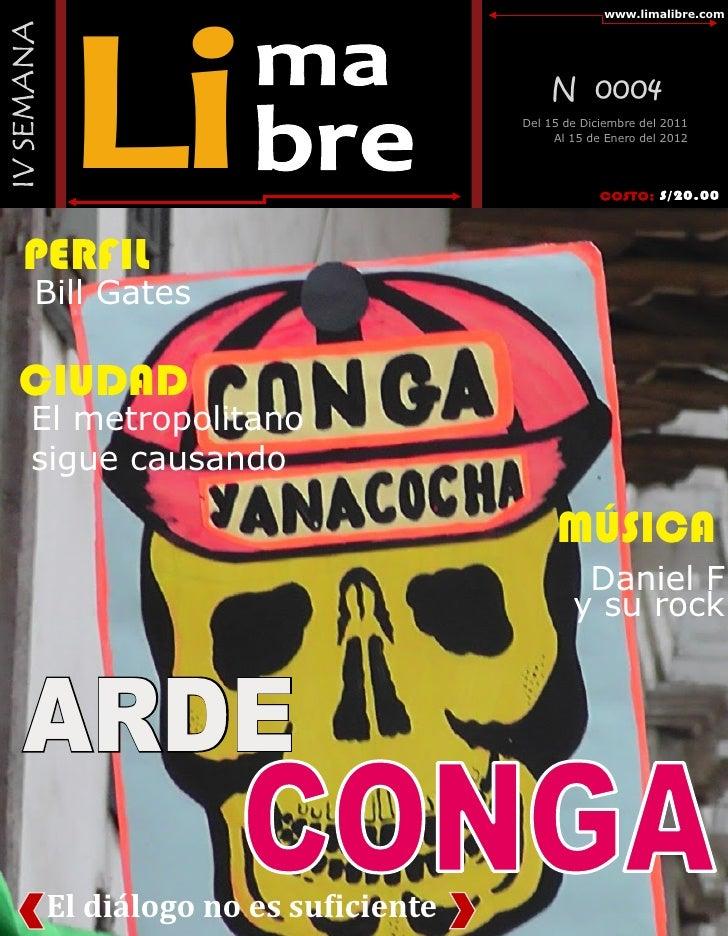 "Revista ""Lima Libre"""