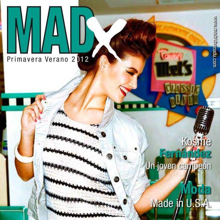 Revista MadX Primavera Verano 2012