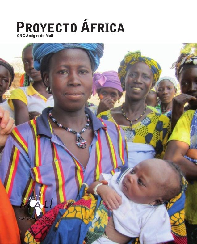 ONG Amigos de Mali PROYECTO ÁFRICA