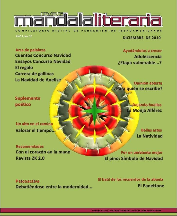 Revista mandala literaria N° 12