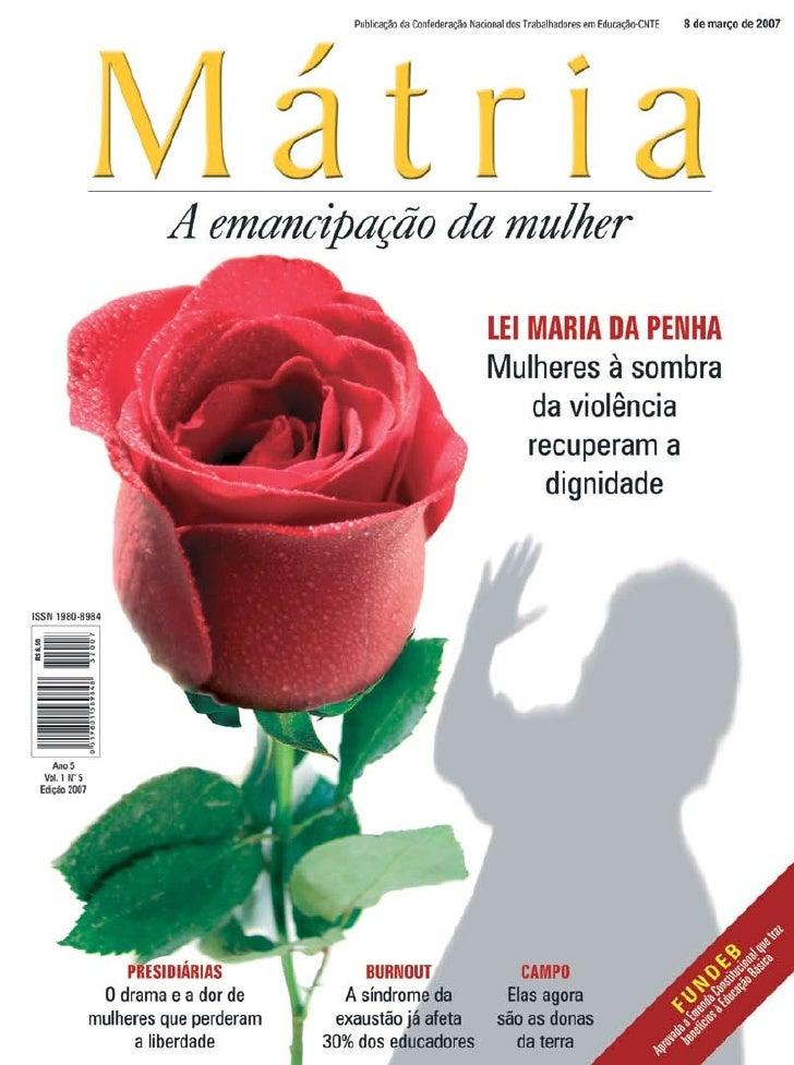 Revista Matria 2007