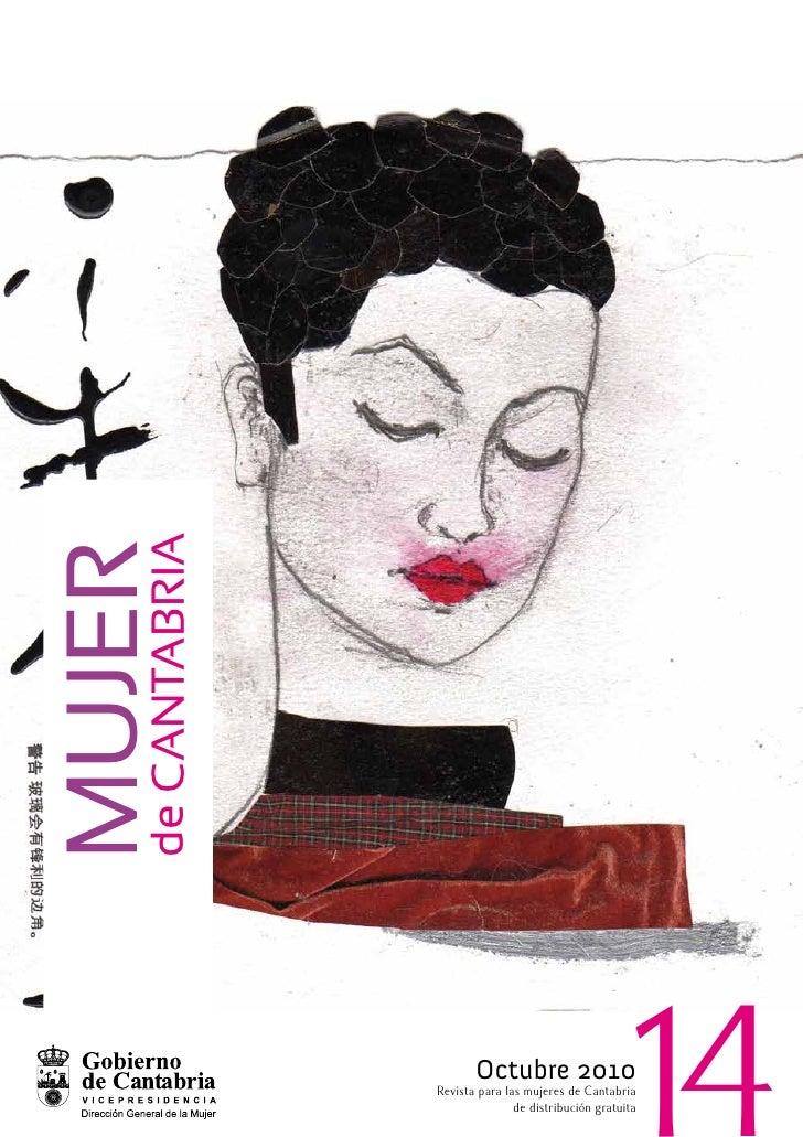 de CANTABrIA Mujer                           Octubre 2010                Revista para las mujeres de Cantabria            ...