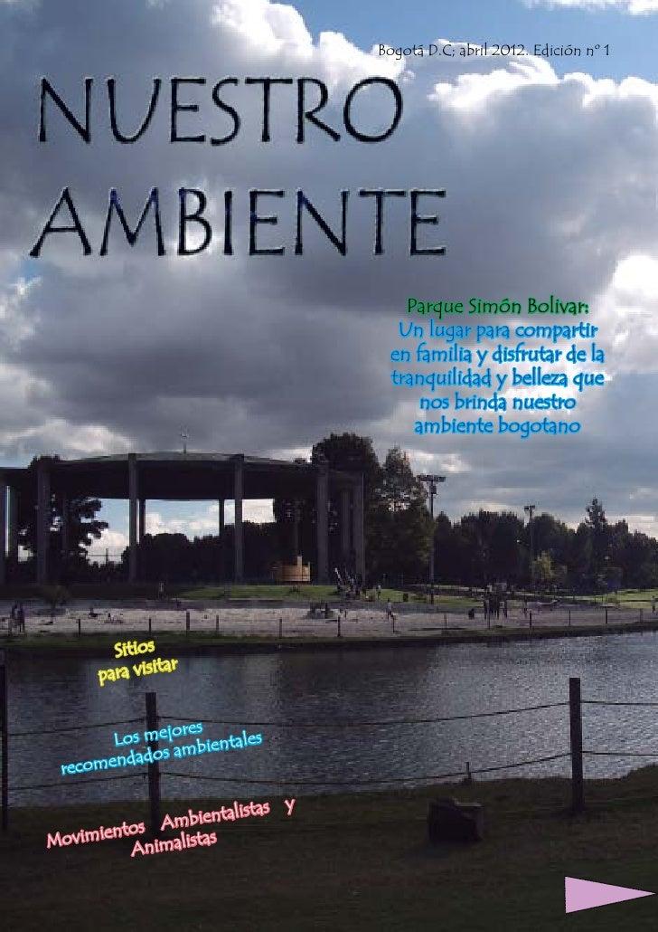 Revista Nuestro Ambiente