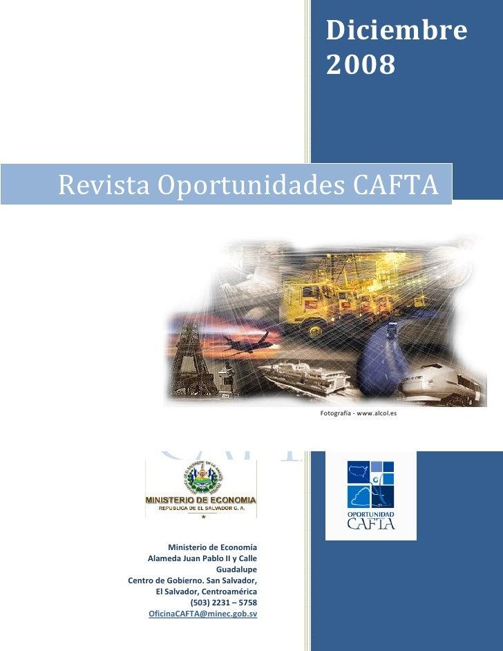 Diciembre                                                2008      RevistaOportunidadesCAFTA                        ...
