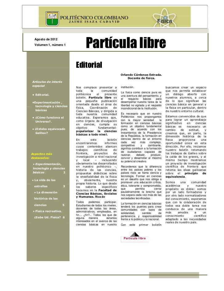 Revista particula libre