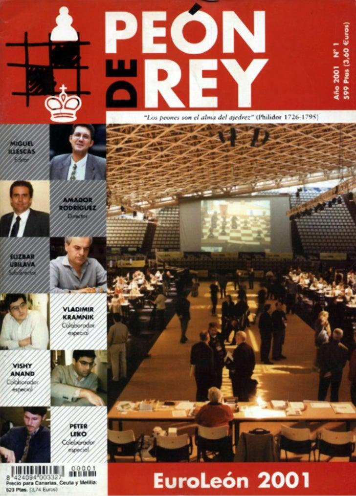 Revista peón de rey nº 1