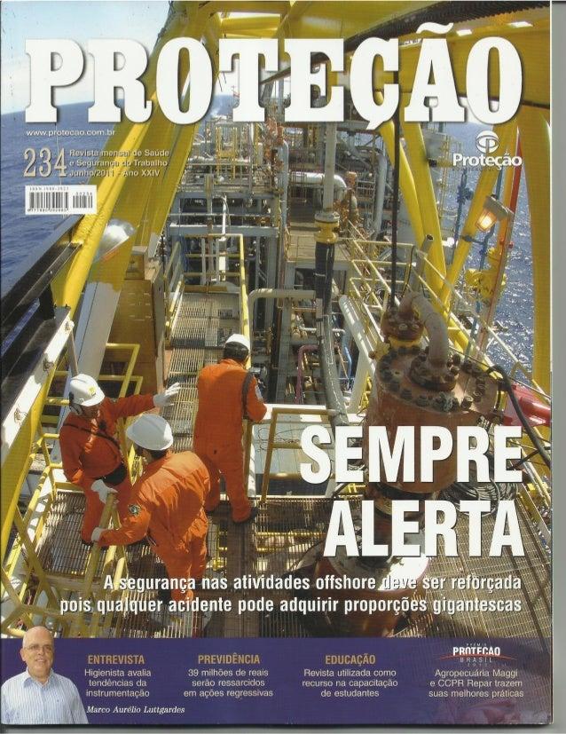 Revista Proteção nº 8: A correlação entre Ética Ambiental, Percepção e Gestão de Riscos