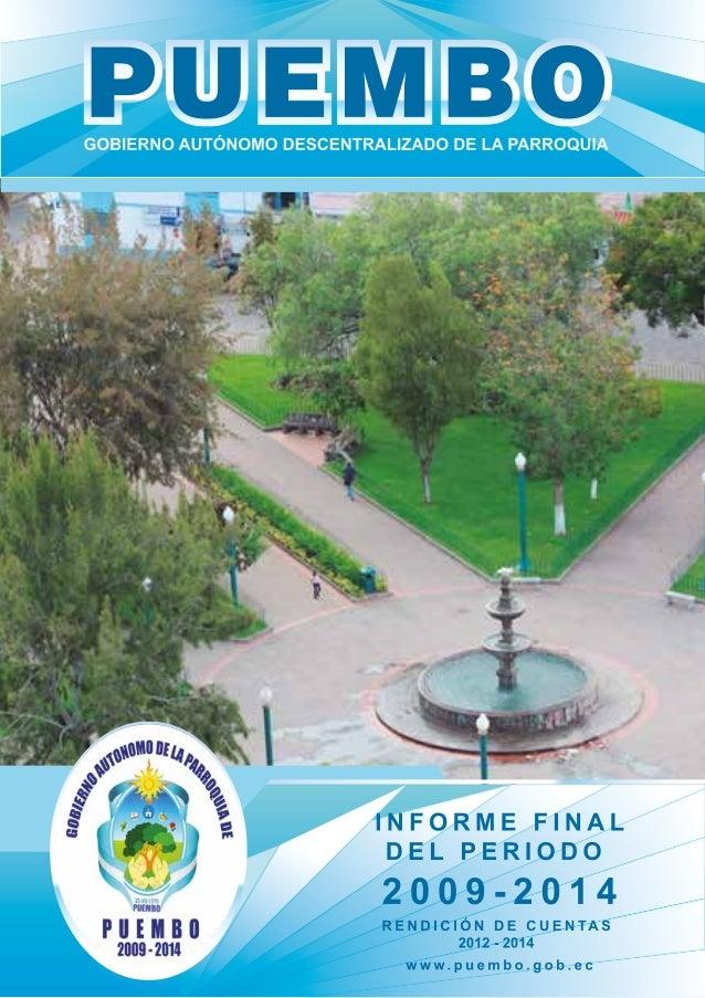 Revista Puembo Administración 2009 a 2014