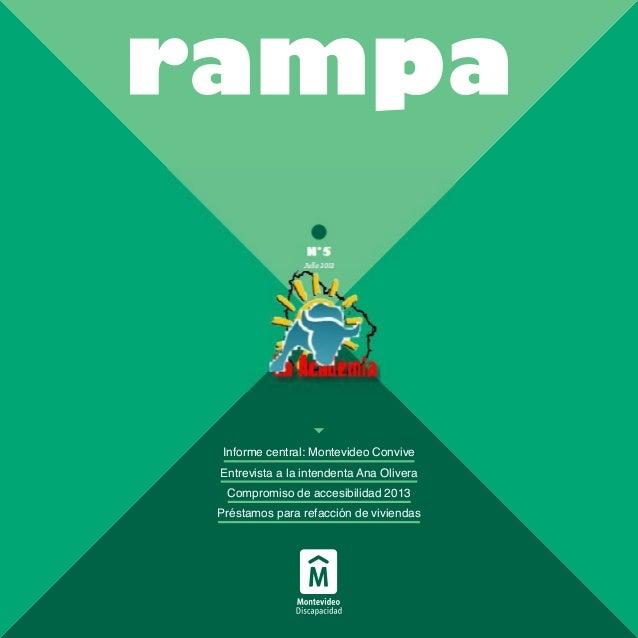 Revista Rampa: capacidades diferentes, julio 2013