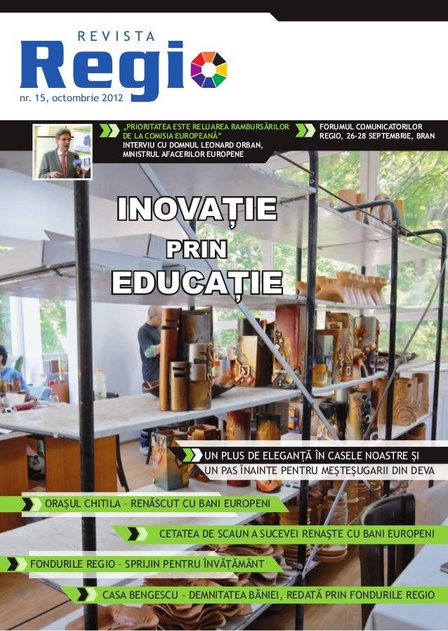 Revista Regio nr. 15