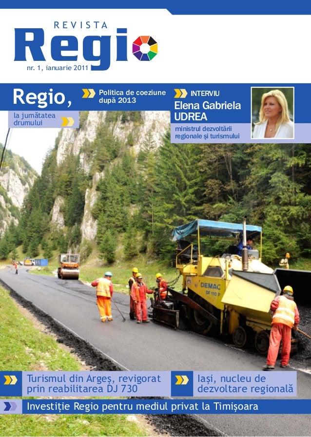 Revista Regio nr. 1