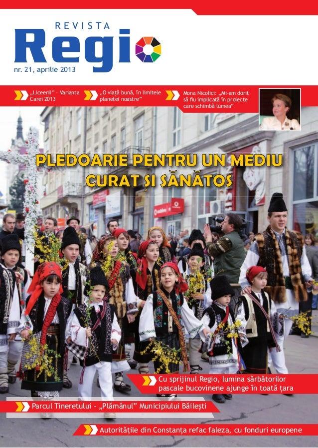 Revista Regio nr. 21