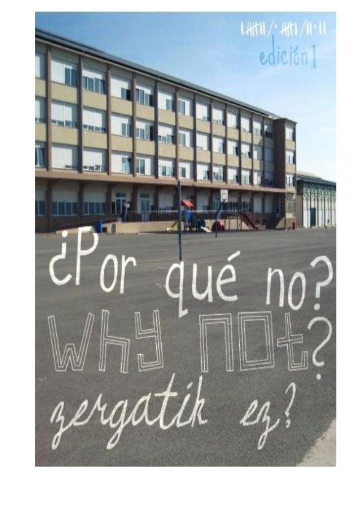 EDITORIALA                                                                   2Nanclares estrenará instituto en 2013Educaci...