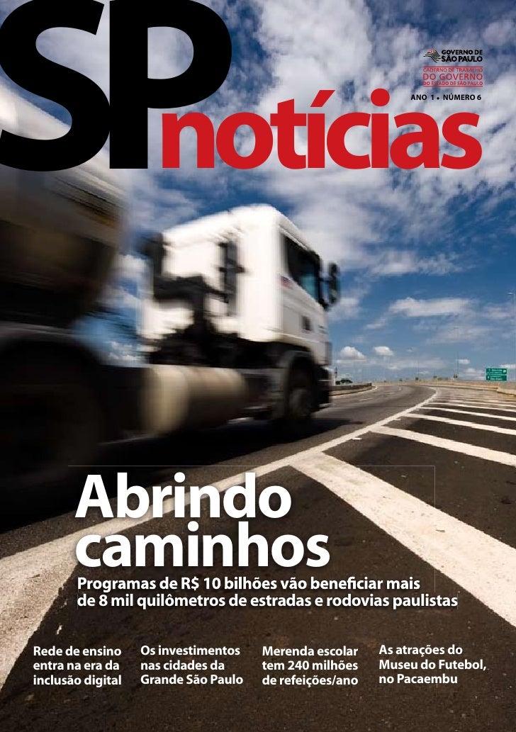 Revista SPnotícias - Ano 1 - Número 06