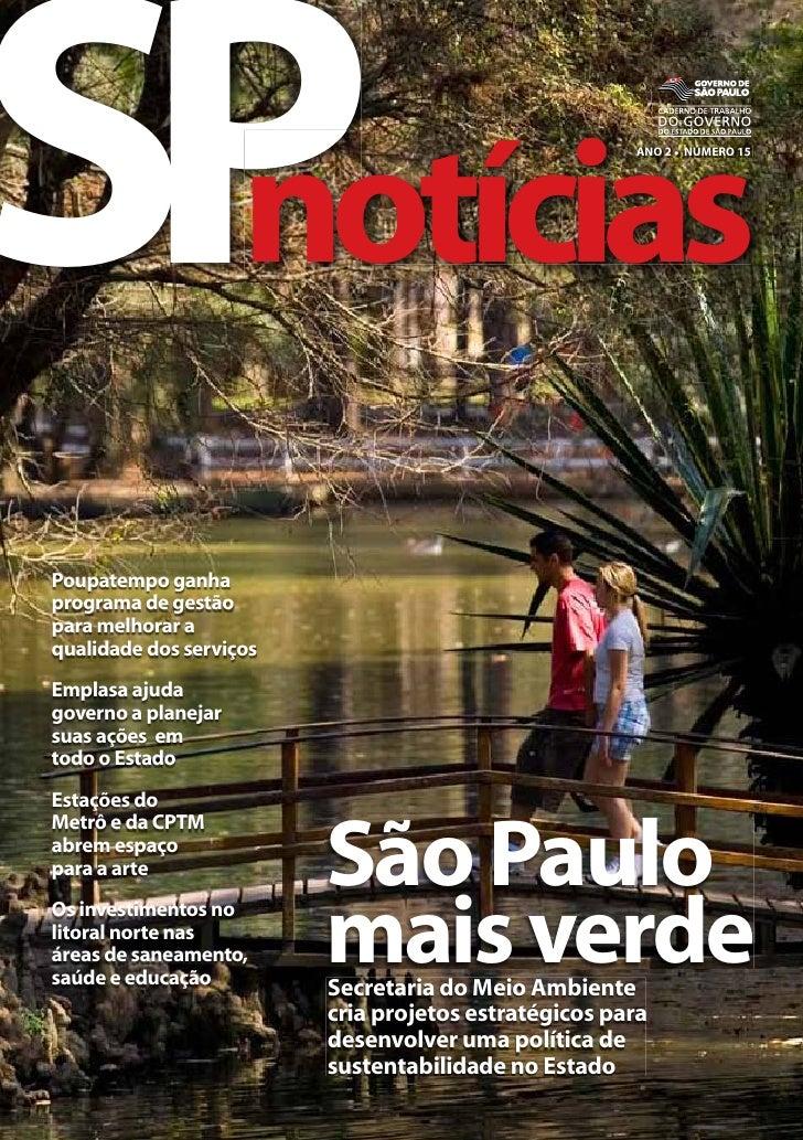 Revista SPnotícias - Ano 2 - Número 15