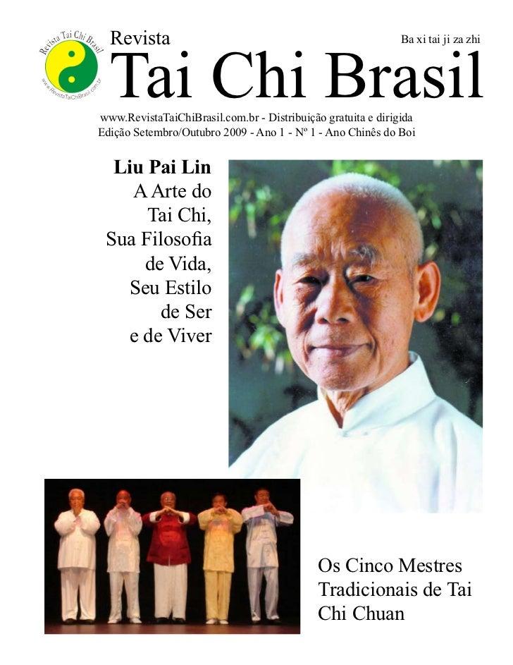Revista  Tai Chi Brasil                                                             Ba xi tai ji za zhiwww.RevistaTaiChiBr...