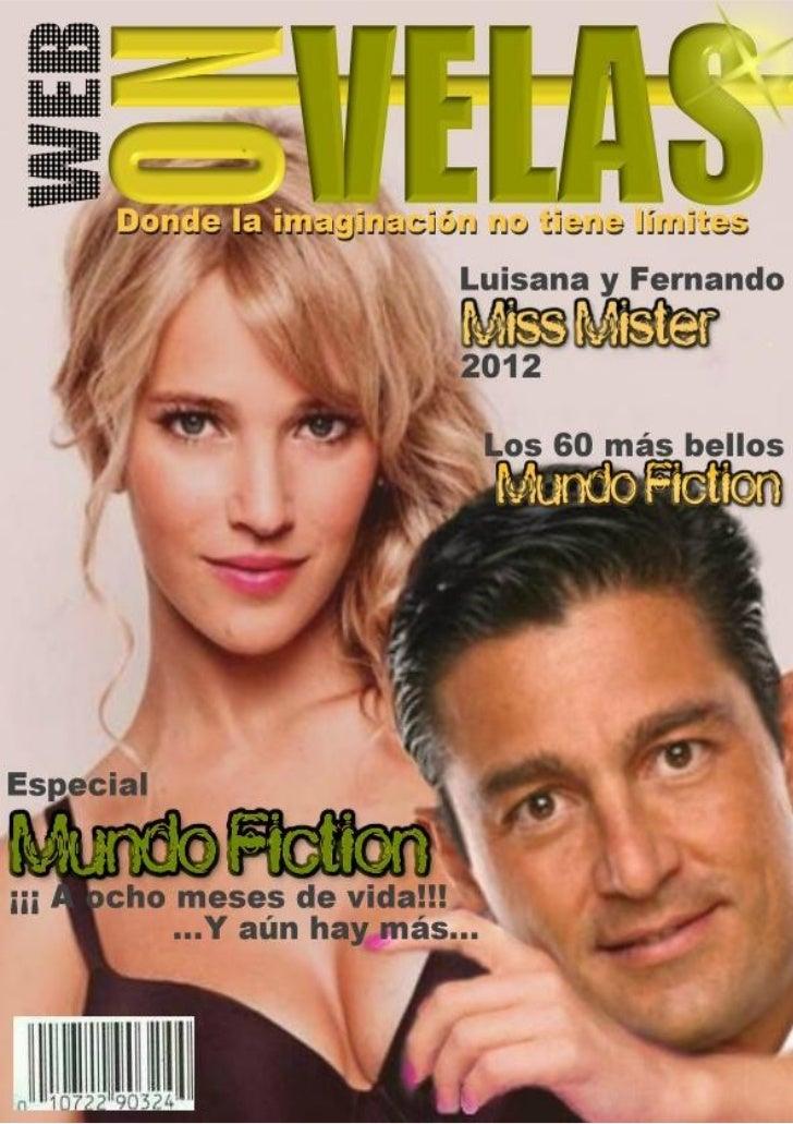 Revista webnovelas... Especial mundo fiction
