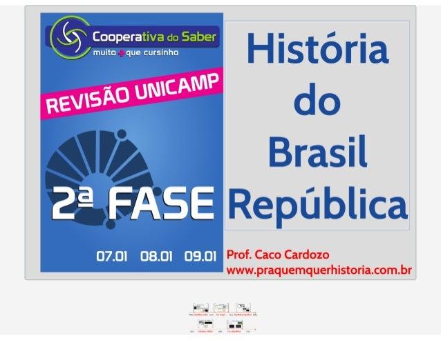 Revis unicamp 2ª fase 2015