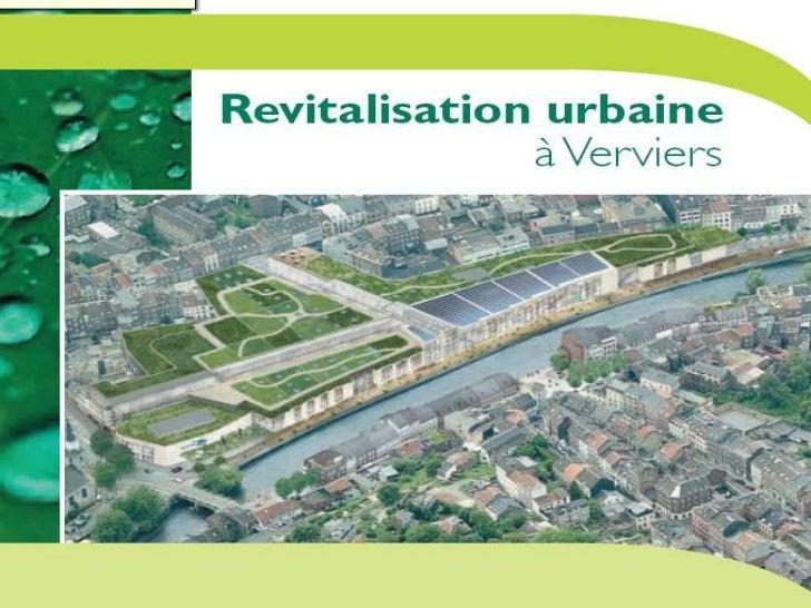 Revitalisation urbaine à Verviers
