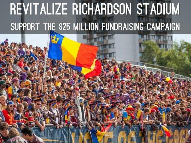Digital Philanthropy class project: RevitalizeRichardson Stadium
