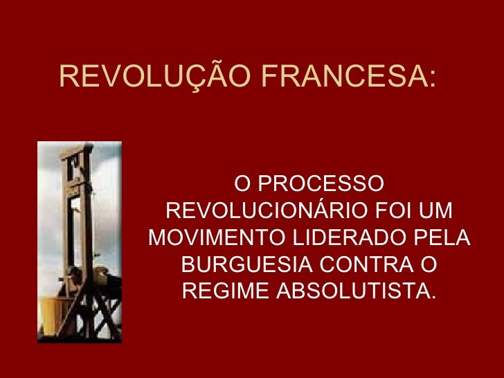 Revolucao francesa 1