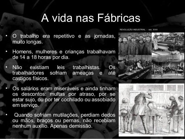 Resultado de imagem para primeira revolução industrial crianças
