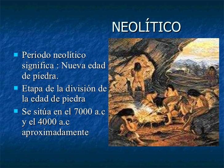 Caracteristicas del mesolitico yahoo dating 1