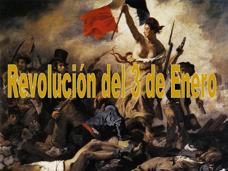 Revolución del 3 de Enero