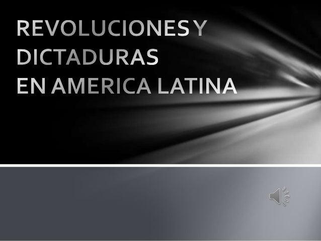 Comienzos de América latina en los SiglosXIX y XXLos países latinos iniciaron su movimiento independentista con revueltasp...