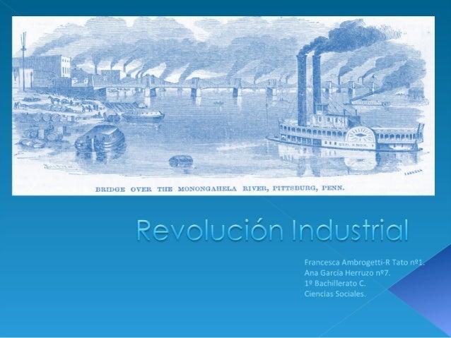 Revolucion industrial  definitivo