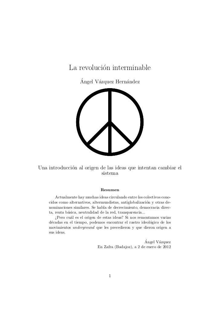 Revolucioninterminable